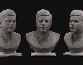 John Fitzgerald Kennedy 3D print model