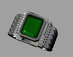 Diamond Man Ring 3D print model