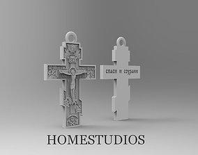 3D print model PENDANT RELIGIOUS CROSS 18 KP