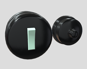 Switch and Bell 3D model
