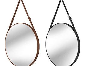 Round mirror belt 3D