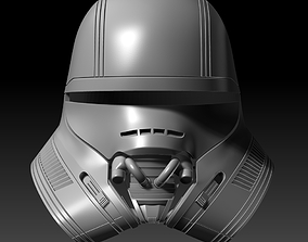 First Order Jet Trooper Helmet 3D Printable Model
