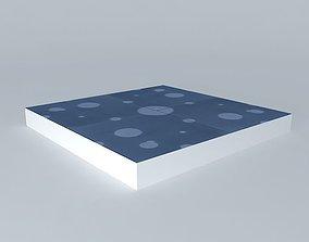 3D model Cement tile tiles marsh Frederic TABARY