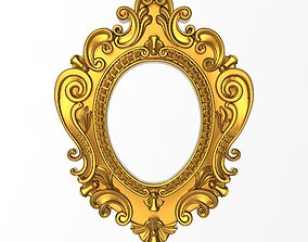 gallery 3D model Carved Picture Frame