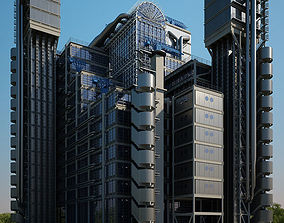 office Lloyds building 3D model