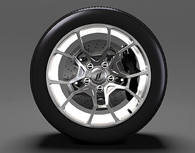 Dodge Challenger GT AWD 2017 wheel 3D model