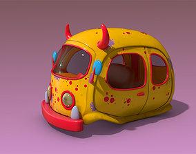 Floating Car 3D asset