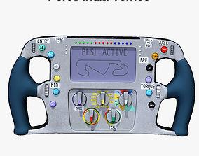 3D model VJM09 Steering Wheel