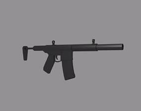 3D model Assault Rifle AM014