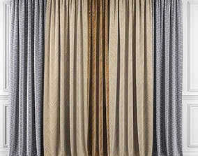 3D Curtain Set 357