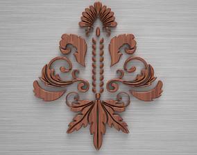 3D model Ornament sq3 by WP