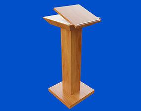 Straight Pulpit 3D model