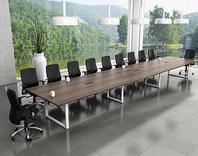 3D model table meeting room