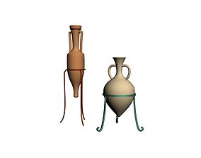 3D model Amphora aceite