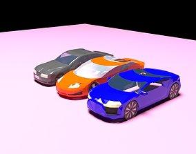 3D model LOW POLY AUTOPACK