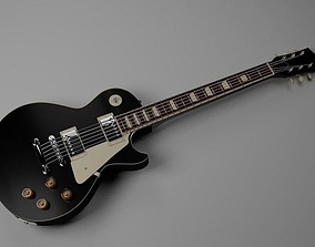 traditional 3D Gibson Les Paul Guitar