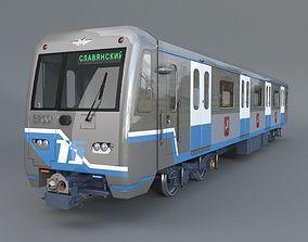 3D model Subway train 81-760