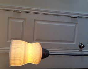 3D Printable Torchiere Lampshade house