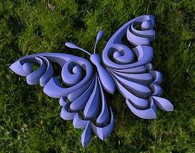 butterfly 3D model VR / AR ready animals