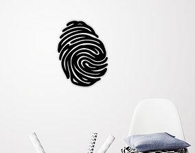 Finger Print wall art