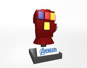 3D model Lego Infinity Gauntlet v3 004