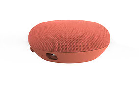 Google home mini red speaker 3D print model