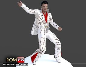 3D print model ELVIS the Number 1