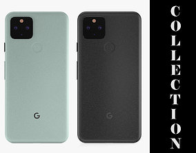 3D model Google Pixel 5 - 2 Colors