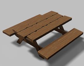 3D model Table Set 02