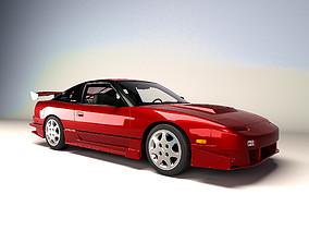 3D asset Nissan 240sx se 1994