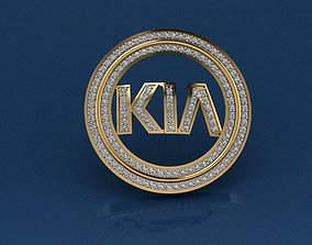 3D print model KIA key-chain