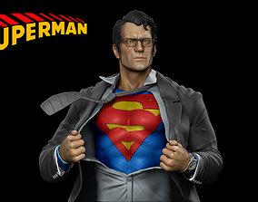 Superman - Clark Kent - 3D Print