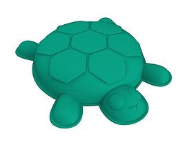 3D print model Turtle shaped mold