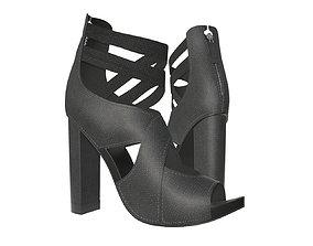 Female footwear 01 3D model