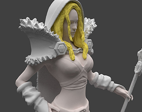 Dota 2 Crystal Maiden 3D Print Model
