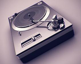 3D model DJ Deck