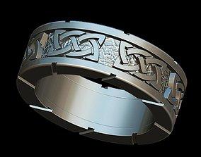 3D print model rings Celtic ring