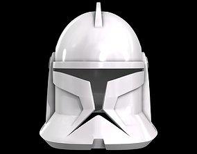 3D printable model Star Wars Phase 1 clone trooper helmet