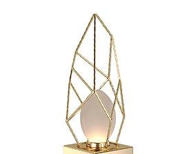 3D model Lamp Lucia Tucci Naomi T4750-1 Gold