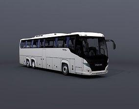 3D asset Scania Touring Bus