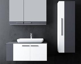 Modern Bathroom Furniture 3D model sink