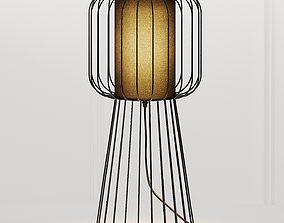 Nordic Style Metal Table Lamp 3D model