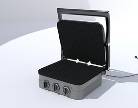 3D model VR / AR ready Sandwich Toaster