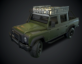 3D model Defender pickup