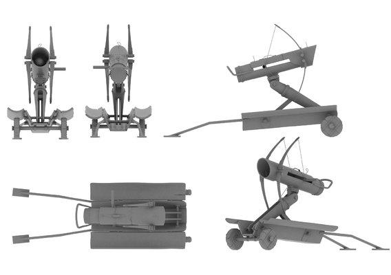 Wrangler catapult