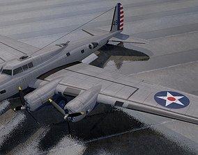 Boeing B-17D Fortress 3D