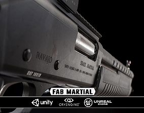 Fabram Martial - Model and Textures low-poly