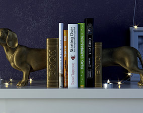 Dog Bookend 3D printable model