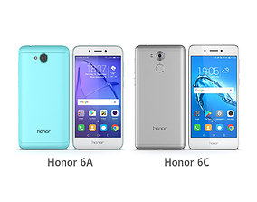 3D Huawei Honor 6A - Honor 6C