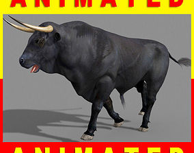 Ultimate Bull - 3d model animated